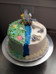 Tinkerbell and Periwinkle Secret of the Wings Cake
