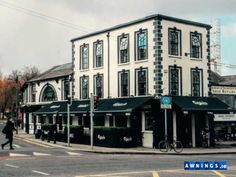 The Blind and Awning Company - Ireland's leading manufacturer and installer of box awnings. Nationwide Commercial and Residential Service. Republic Of Ireland, Dublin, Multi Story Building, Street View, City, Places, Outdoor, Box, Outdoors