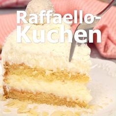 Raffaelo-Kuchen: Ein Traum aus Kokos – Kuchen Rezepte Raffaelo Cake: A Dream of Coconut Suuuuupiiiiii Torte The post Raffaelo Cake: A Dream of Coconut appeared first on Cake Recipes. Easy Cake Recipes, Easy Desserts, Cookie Recipes, Dessert Recipes, Coconut Desserts, Food Cakes, Torte Au Chocolat, Coconut Dream, Chocolate Recipes