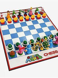 Let's-a-go! | Nintendo Super Mario Bros. Chess Set