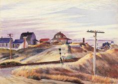 Edward Hopper - Cottages at North Truro
