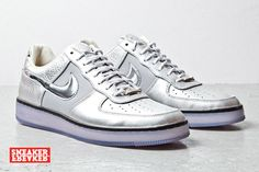 Nike Air Force 1 Downtown Silver
