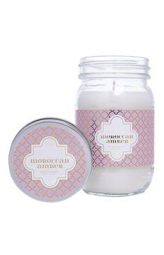 Primark - Bougie dans bocal parfum ambre marocaine