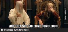 Gandalf is NOT dumbledore