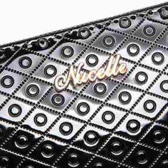Cartera Para Dama, Color Negro 20x11x3, En Piel - $ 465.00 en MercadoLibre