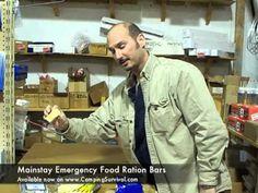 Camping Survival Survival Food Bar Review & Taste Test