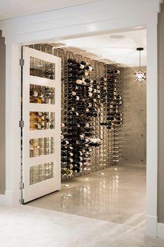 wine cellar | j+r katz design & architecture