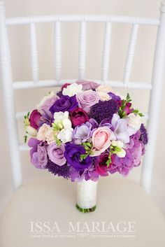 Summer Wedding Bouquets, Diy Wedding Flowers, Bridesmaid Flowers, Bridal Flowers, Flower Bouquet Wedding, Purple Wedding, Floral Wedding, Purple Bouquets, Bride Bouquets