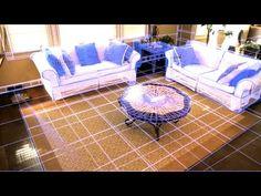 Laser-Guided Robotic Vacuum Cleaner