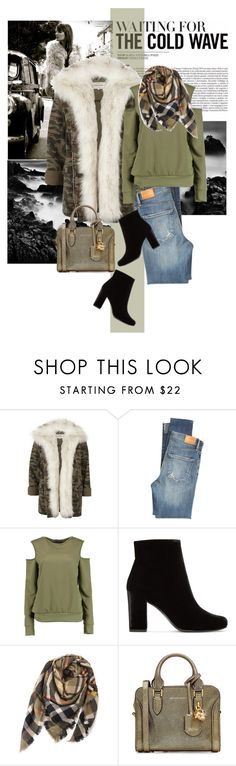 """""""Untitled #2553"""" by style-stories ❤ liked on Polyvore featuring River Island, Citizens of Humanity, Boohoo, Yves Saint Laurent and Alexander McQueen"""