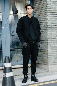 Really into bomber jackets. The bigger and more oversized, the better!