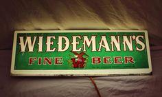Wiedmans Beer Sign Vintage