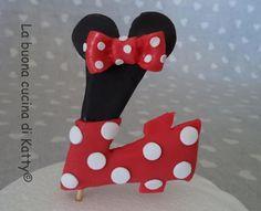 La buona cucina di Katty: Torta Minnie - Cake Minnie Mouse