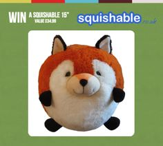 "WIN a Squishable 15"" (value £34.99)"