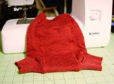 How To Turn A Wool Sweater Into A Diaper Cover | The Crunchy Wife