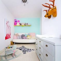 Another photo from @kidandcoe from our nursery/ room of Bobbi
