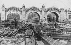 St Louis  World's Fair demolition