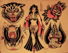 Sailor Jerry Collins Tattoos