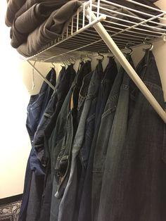Jeans Organization Ideas