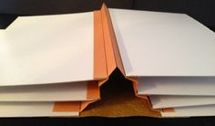 annes papercreations: How to make hinges, spines and binding for mini albums and journals. By Anne Rostad