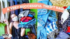 A very Successful THRIFT HAUL + TRY ON =) Dress Up Diary, Thrift Haul, Try On, I Dress, Thrifting, Success, Youtube, Fashion, Moda