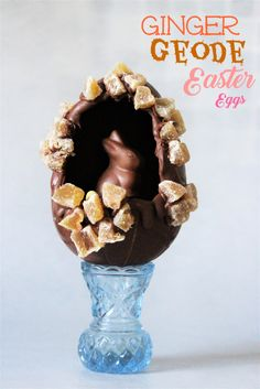 Make your own Easter eggs, more like redesign your own eggs. Decorating eggs is fun, but chocolate moulds are hard to find sometimes, mostly at the times you want or need them most, and tempering. Egg Decorating, Chocolate Molds, Easter Eggs, Arts And Crafts, Food, Meal, Eten, Meals, Art And Craft