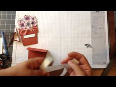 Stampin' Up Flower Shop Flower Pot WOW Wednesday - YouTube