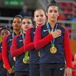 Olympic gymnast Gabby Douglas earned a gold medal and a load of backlash after Tuesday's award ceremony for the U.S. women's team. Douglas, who was the