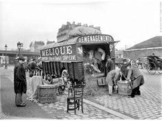 بالصور : كيف كانت الحياة الباريسية من قبل