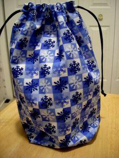 Knitting Project Bag knitting bag Med size KIP BAG by brightcraft