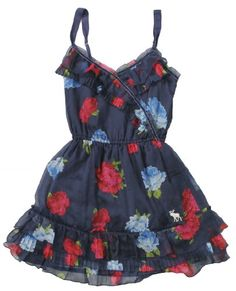 Abercrombie & Fitch Women's Elsie Floral Chiffon « Clothing Impulse