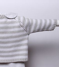 Ravelry: 7 / Striped Cardigan by Florence Merlin