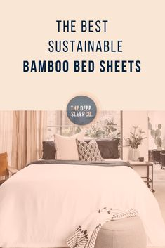 Not all bamboo bedding is created equal! Bamboo bed sheets vary in their manufacturing processes and raw materials. Find out which sheets are best for you. Cozy Bedroom, Master Bedroom, Hotel Collection Bedding, Cheap Bed Sheets, King Sheets, Box Bed, Queen Bedding Sets, Best Mattress, Cool Beds