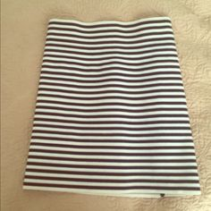 Striped bandage skirt High waisted bandage skirt but u can make it as high or low as u want. Bought at Bloomingdales. Wore twice. The perfect summer or vacation skirt  Pleasure Doing Business Skirts