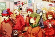 South Park. Anime Style.:)