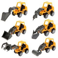 2016 New 6X Kids Mini Car Toys Lot Vehicle Sets Educational Toys Engineering vehicle FCI# #>=#>=#>=#>=#> Click on the pin to check out discount price, color, size, shipping, etc. Save and like it!