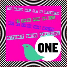 ONE.org  I made this in support of (2015)Quilt on ONE.org. It's a great organization and they could use your support.