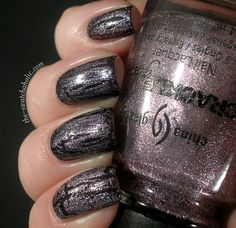 China Glaze Crackle in the color Latticed Lilac