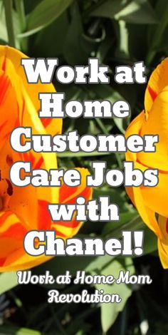 Work at Home Customer Care Jobs with Chanel! / Work at Home Mom Revolution