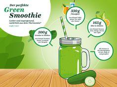Grüne Smoothies Grafik