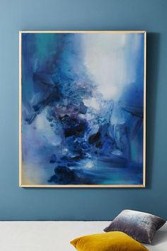 Abstract painting on canvas orginal large abstract art canvas oversize wall art canvas abstract blue white abstract art painting artwork oil Abstract Canvas, Canvas Wall Art, Oversized Wall Art, Minimalist Painting, Original Paintings, Blue And White, Artist, Artwork, Handmade