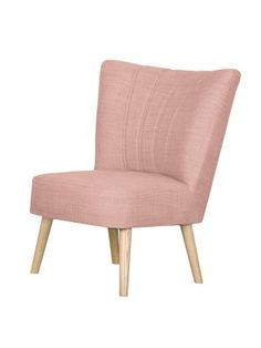 Sessel Oona I   Webstoff   Mauve, Kollected By Johanna | HomeToday.de