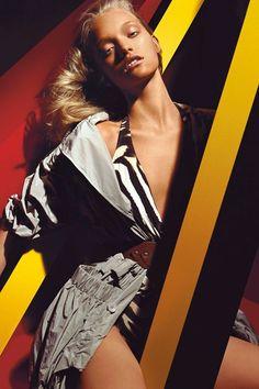 Gemma Ward has never been this tan.