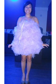 Homemade bath pouf costume loofah costume costumes and loofah light purple tulle diy loofah dress dress heather gray target pumps solutioingenieria Image collections