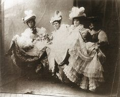 Can Can dancers from the Moulin Rouge 1890