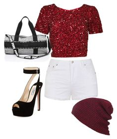 """""""magnifique non ?"""" by baby-dolle on Polyvore featuring Ally Fashion, Parker and Prada"""