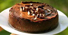What is that smell from Chocolate? It instantly tingles my senses and starts the salivation. And for me, a lover of baked cheesecakes ...