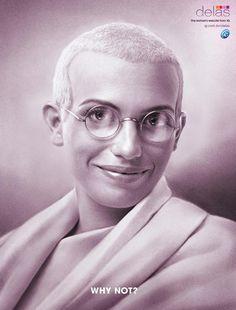 IG / Delas: Gandhi | Ads of the World™