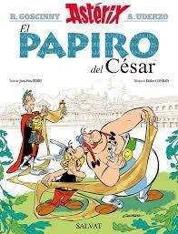 """Hoy para todos los seguidores del movimiento Asterix, Universo la Maga os presenta el último álbum publicado""""El papiro del César"""", un imprescindible que no nos podemos perder. Hablar de Asterix y Obelix es hablar..."""