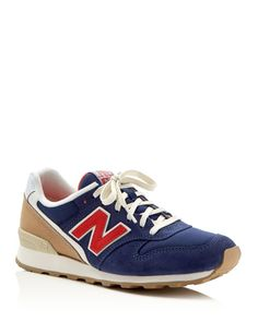 New Balance Womens' Lakeview Lace Up Sneakers
